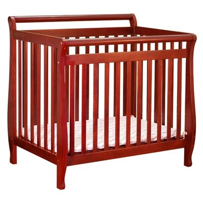 AFG Furniture Athena Mini Amy Convertible Crib in Pecan