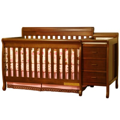 Ashlee Athena Kimberly 3-in-1 Convertible Crib Combo