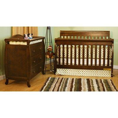 AFG Furniture Alice 3-in-1 Convertible Crib Set