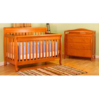 AFG Furniture Alice 3-in-1 Convertible Crib Set
