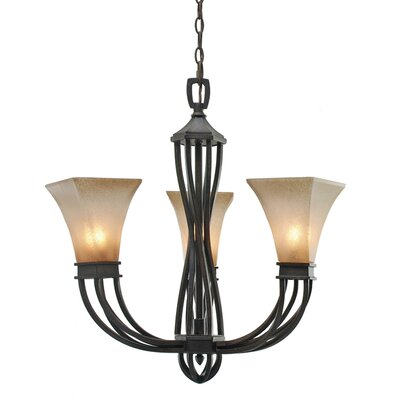 Origins 3 Light Mini Chandelier