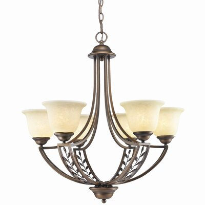 Woodbriar 6 Light Chandelier