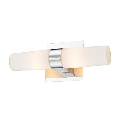 Golden Lighting Cilia 2 Light Bath Vanity Light