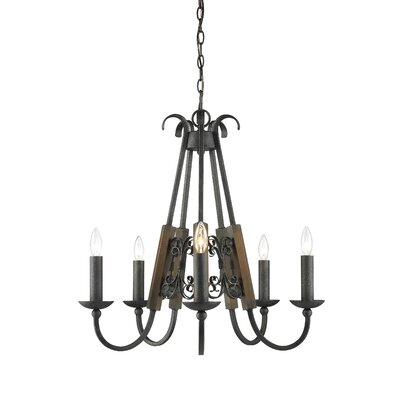 Moreno 5 Light Candle Chandelier