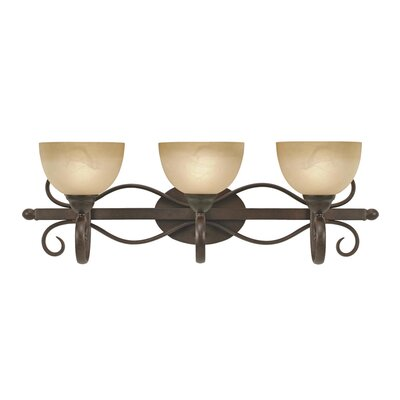 Golden Lighting Riverton 3 Light Bath Vanity Light