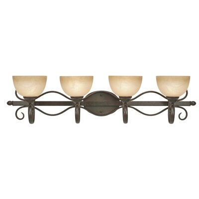 Riverton Vanity Light in Peppercorn