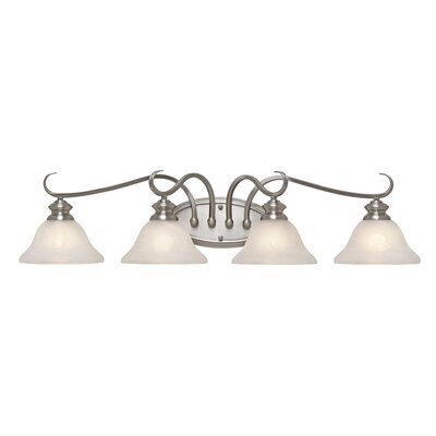 Golden Lighting Lancaster 4 Light Bath Vanity Light
