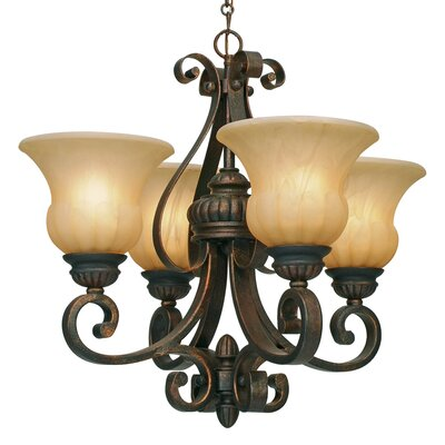Mayfair 4 Light Mini Chandelier