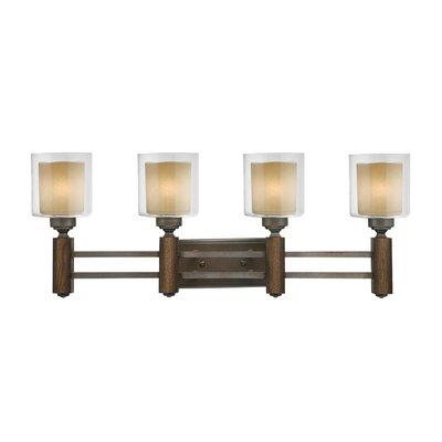 Golden Lighting Zura 4 Light Bath Vanity Light