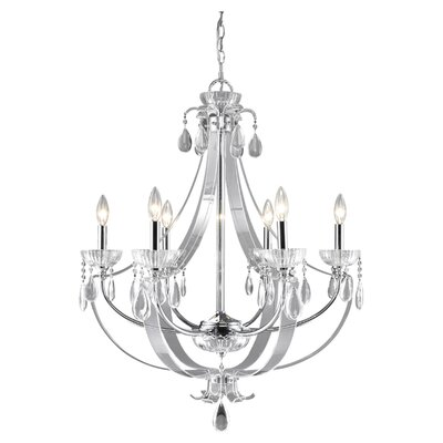 Clarion 6 Light Chandelier