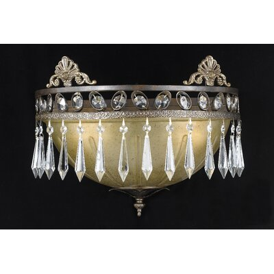 Triarch Lighting Le Grandeur 2 Light Wall Sconce