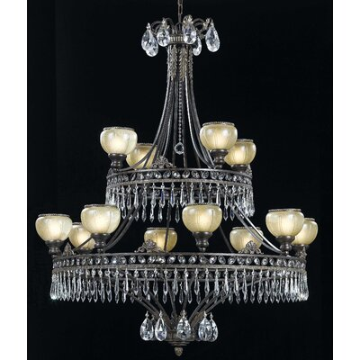 Triarch Lighting Le Grandeur 12 Light Chandelier