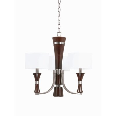 Triarch Lighting Brady 3 Light Mini Chandelier