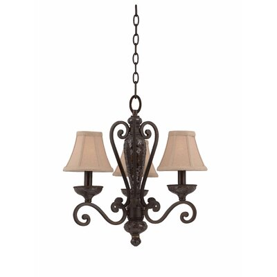 Triarch Lighting Jewelry 3 Light Mini Chandelier