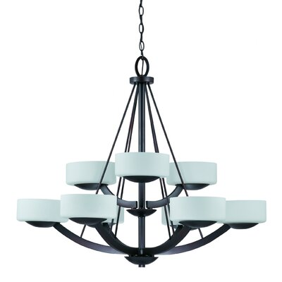 Triarch Lighting Viking 9 Light Chandelier