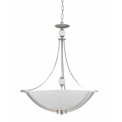 Triarch Lighting Halogen VI 4 Light Inverted Pendant