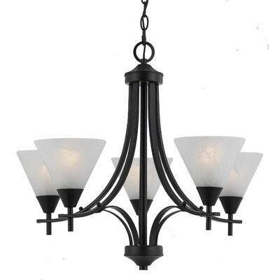 Triarch Lighting Value Series 5 Light Chandelier