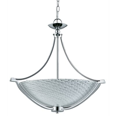 Triarch Lighting Halogen VII 4 Light Inverted Pendant