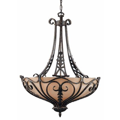 Triarch Lighting Passion 6 Light Large Inverted Pendant