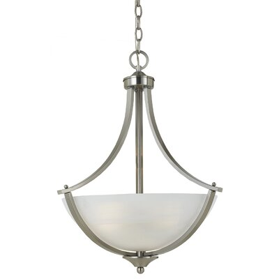 Triarch Lighting Value Series 290 3 Light Inverted Pendant