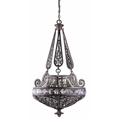 Triarch Lighting Grand 6 Light Inverted Pendant