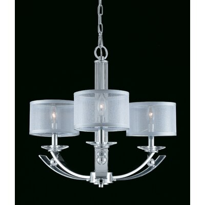 Triarch Lighting Aurora 3 Light Chandelier
