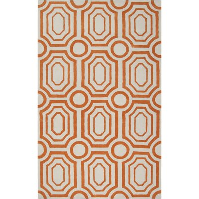 angelo:HOME Hudson Park Golden Ochre/Winter White Rug