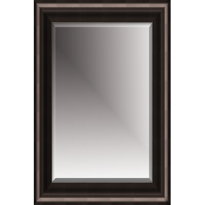 Michael Payne Beveled Mirror with Polystyreen Frame in Black