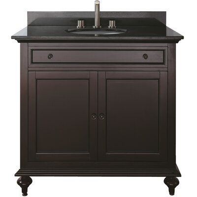"Avanity Merlot 36"" Bathroom Vanity Set"