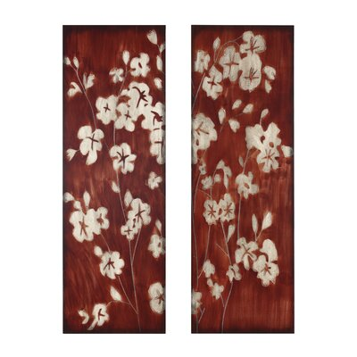 Kokoware Cherry Blossom Wall Art (Set of 2)