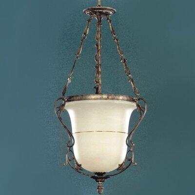 """Zaneen Lighting Zona 45"""" Pendant in Rustic Bronze"""