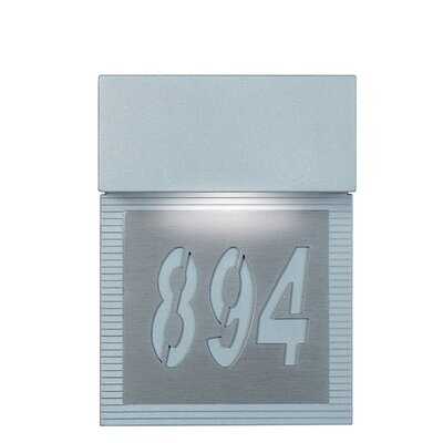 Zaneen Lighting Mini Signal Address Plaque