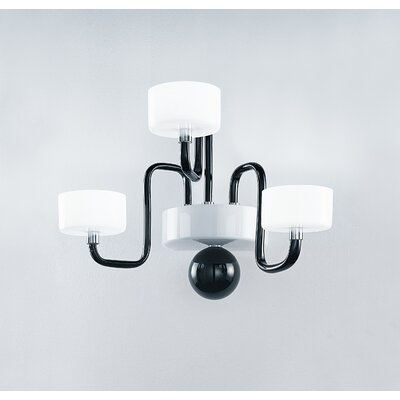 Zaneen Lighting Guggenheim 3 Light Wall Sconce
