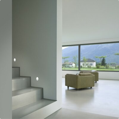 Zaneen Lighting Invisibili 1 Light Recessed  Wall Washer Step Light