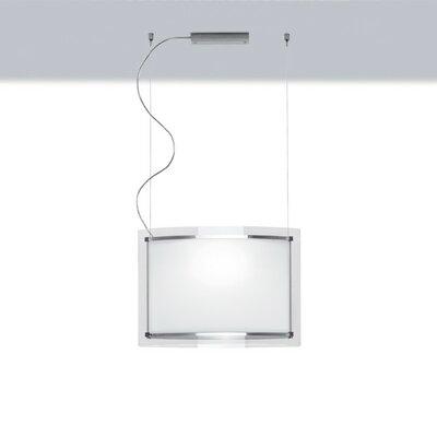 Zaneen Lighting Vision Single Light Pendant in Chrome