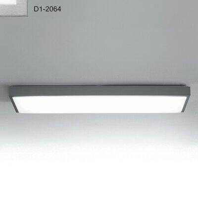 Zaneen Lighting Flat-R 2 Light Fluorescent Strip Light