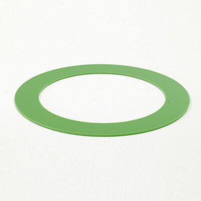 Zaneen Lighting Spool Acrylic Ring Insert Accessory in Green