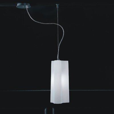 Zaneen Lighting Alvi One Light Pendant in Gray Metal