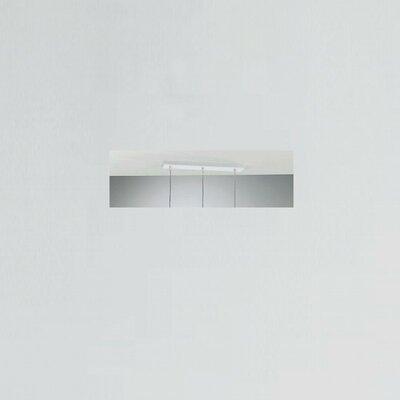 Zaneen Lighting Jazz Three Light Pendant Holder in White