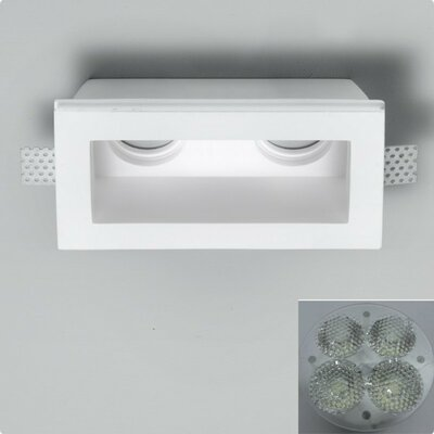 Zaneen Lighting Invisibili 2 Fixed LED SpotLights