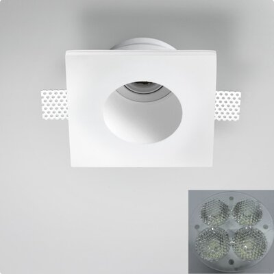 Zaneen Lighting Invisibli 4 Light Recessed Adjustable LED SpotLight