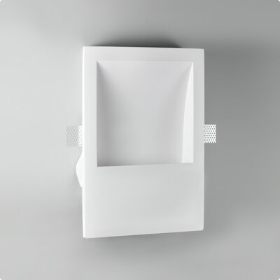 Zaneen Lighting Invisibli 1 Light Recessed Wall Fixture