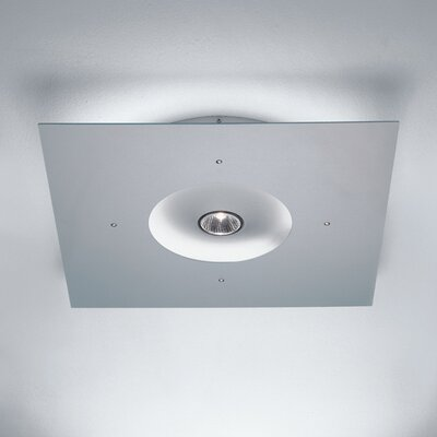 Zaneen Lighting Ixion Square Ceiling Semi Flush Mount