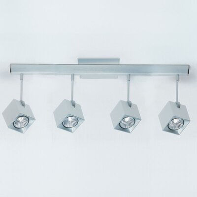 Zaneen Lighting Dau Spot Four Light Flush Mount