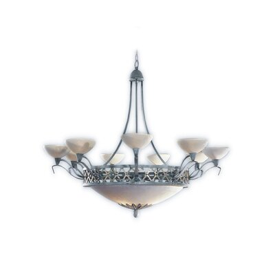 Zaneen Lighting Padova Chandelier in Antique Slate