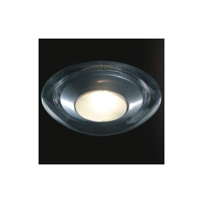 Zaneen Lighting Boreale Large Single Light Flush Mount in Gray