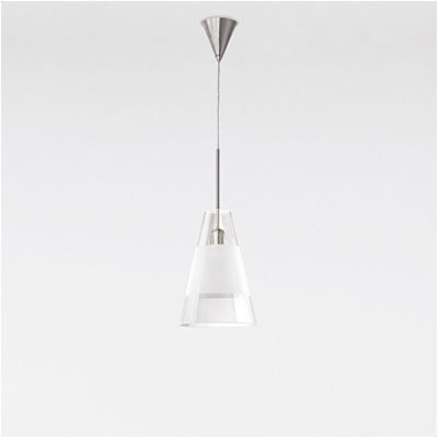 Zaneen Lighting Ronni Single Light Pendant in Brushed Nickel