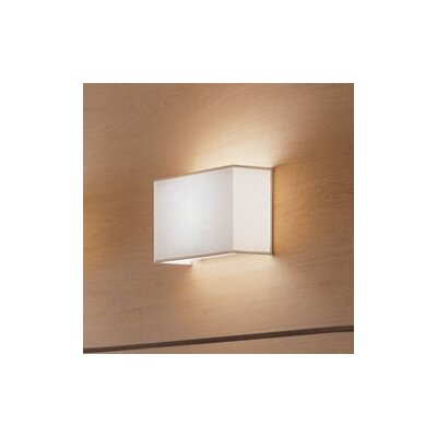 Zaneen Lighting Blissy Wall Sconce with White Shade