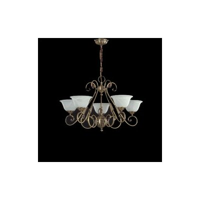 Zaneen Lighting Alava I Traditional Chandelier in English Bronze