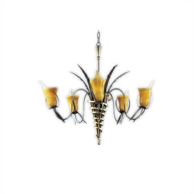 Zaneen Lighting Firenze Five Light Incandescent Chandelier